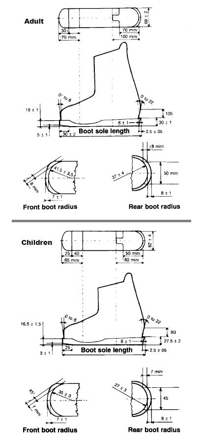 Kid S Skis Vs Adults Skis Kid S Boots Need Kid S